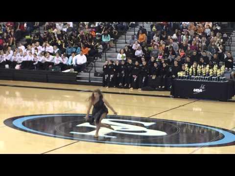 Aubrey Turner Solo UDA Dance Competition @ Spain Park High School