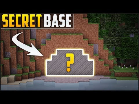 Minecraft How To Build A Secret Base Tutorial 6