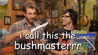 rhett prepping for the apocalypse for 9 minutes straight