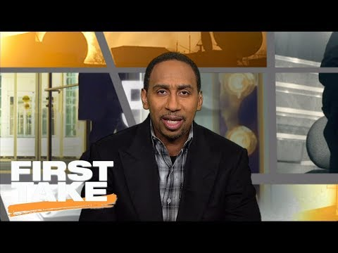 Stephen A. Smith says Eagles have 'shocked' him | First Take | ESPN