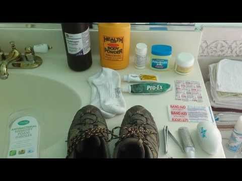 Preppers! Don't Get Hamburger Feet! Foot Care Tips for Post Apocalyptic SHTF Trekking :)