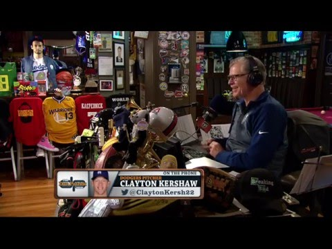 Clayton Kershaw on The Dan Patrick Show (Full Interview) 03/23/2016