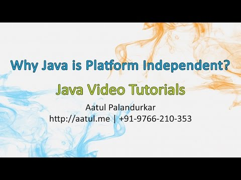 Why Java is Platform Independent?