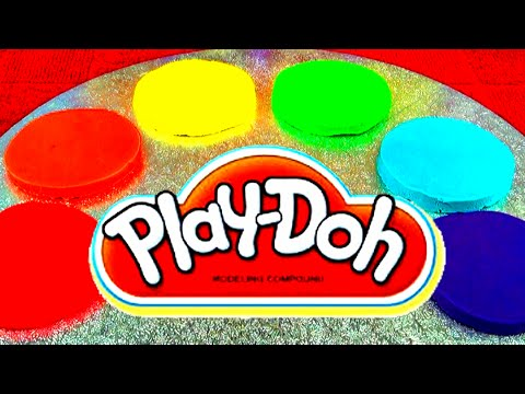 Play-Doh Kinder Surprise Eggs Cars Peppa Pig Cake Spongebob Mickey Cookie Monster Disney Toy Story