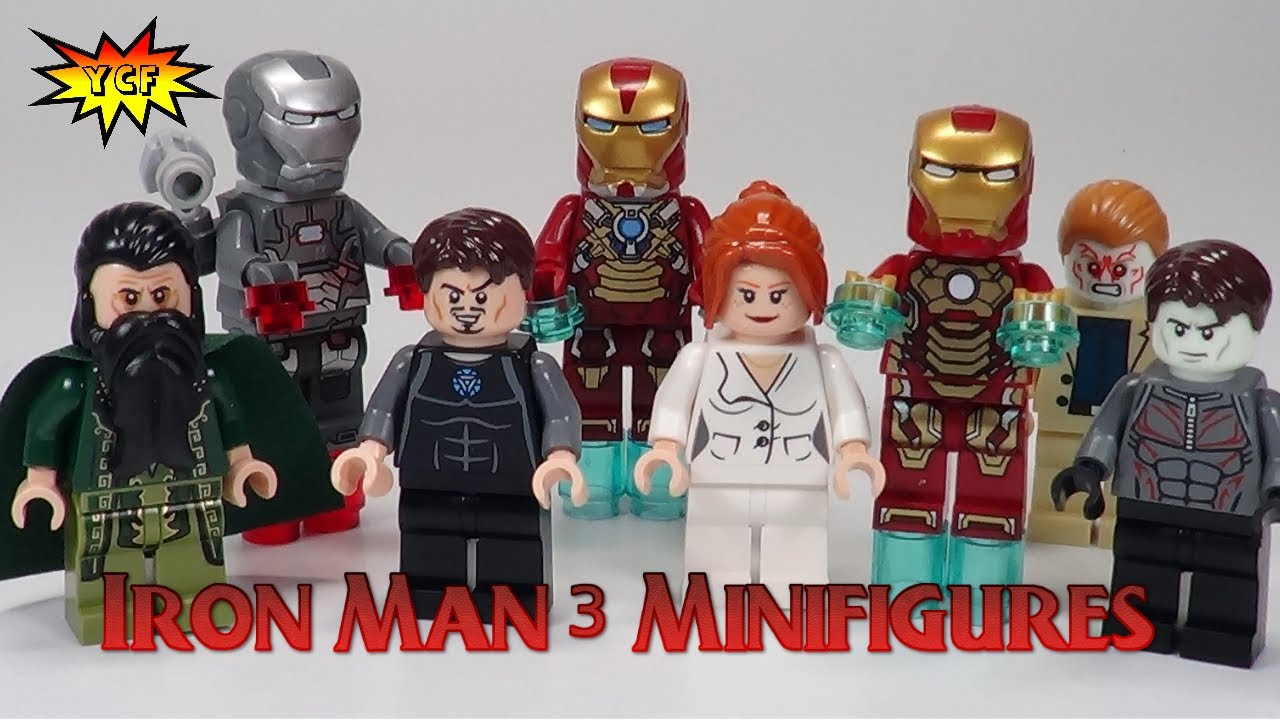 Lego iron man 3 minifigures super heroes collection review - Iron man 3 lego ...