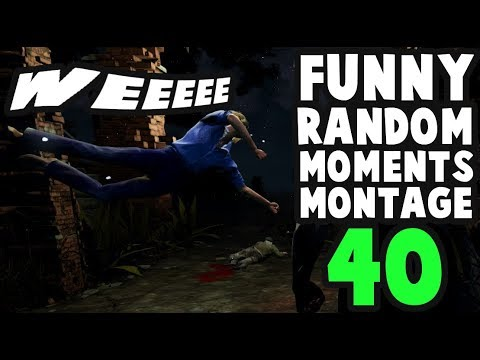 Dead by Daylight funny random moments montage 40