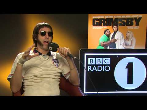 Sacha Baron Cohen in character interview - Grimsby