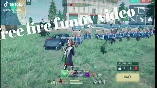 FREE FIRE TIK TOK VIDEO#PART VIDEO FUNNY E SONG AND FUNNY MOMENT