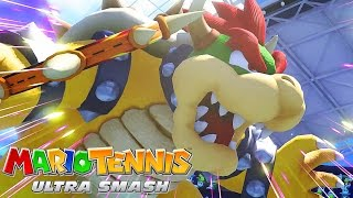 Mario Tennis: Ultra Smash [Father Vs. Son - Doubles Match] Wii U Gameplay