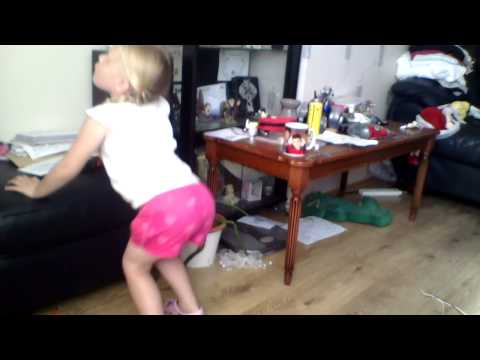 3 Year Old Twerking ! Funny As Fuck video