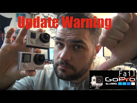 HPIGUY   GoPro Update Warning - NO USB Video Out - NO FPV!