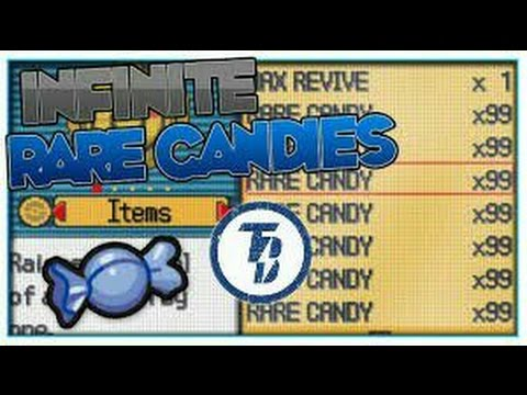 Pokémon FireRed Unlimited rare candies cheat code.... *No Root*