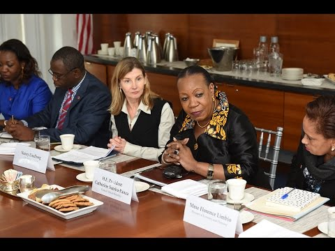 A Conversation with H.E. President Catherine Samba-Panza (French Extended Interview)