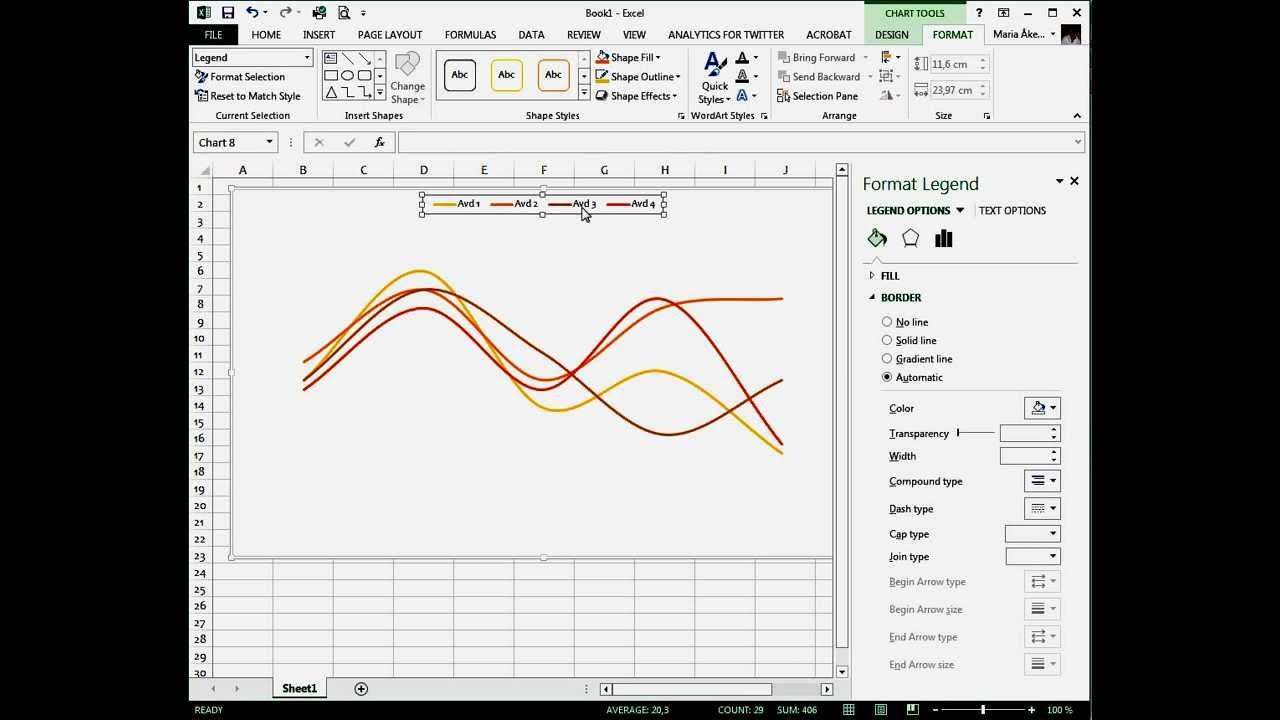Skapa Diagram I Excel 2013