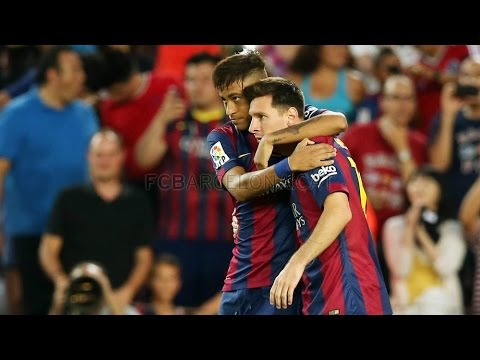 Barcelona vs Club León (6-0) All Goals & Highlights 18.08.2014 Trofeu Joan Gamper