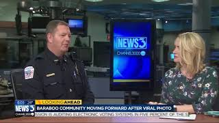 Baraboo police Chief Mark Schauf talks about viral prom photo