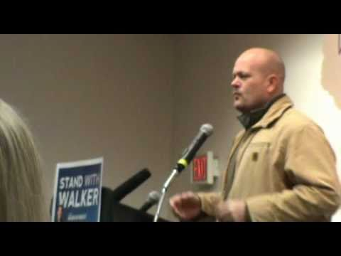Joe Wurzelbacher - Joe the Plumber - Americans for Prosperity talk - Madison, WI 3-6-11