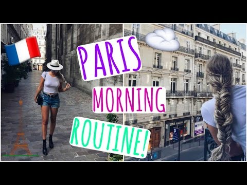 Get Ready With Me // Paris Morning