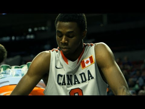 "Andrew Wiggins - Nike Hoop Summit 2013 (Kansas Jayhawks) ""Hoop Summit Hoopla"""