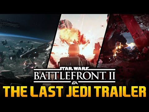 CRAIT & DQAR FIRST LOOK & THINGS YOU MAY HAVE MISSED: Star Wars Battlefront 2 The Last Jedi Gameplay