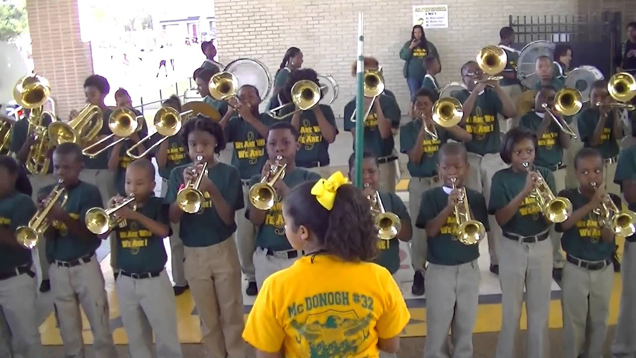 Mcdonogh 32 Elementary Vs Helen Cox High School Youtube