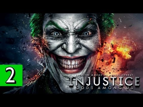 Injustice: Gods Among Us - PART 2 Playthrough [1080p] Lets Play Walkthrough TRUE-HD QUALITY