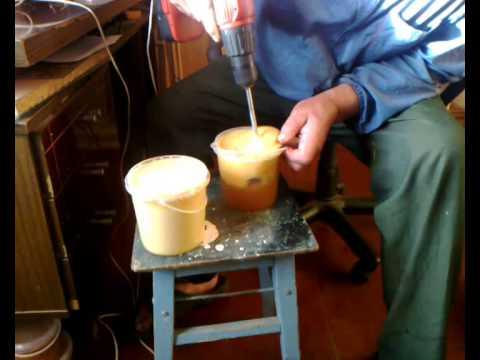 Приготовление крем мёда