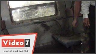 بالفيديو .. اللقطات الأولى لتفجير قطار محطة مصر فى رمسيس
