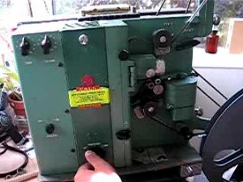 16mm Projector, RCA model 415 Part two