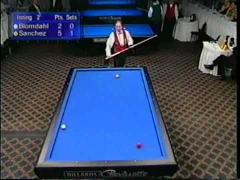 2003 World Cup 3Cushion Billiards Blomdahl vs Sanchez