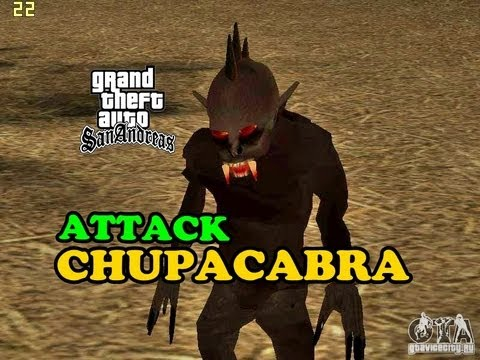 GTA San Andreas-Chupacabra Attack MOD [HD]