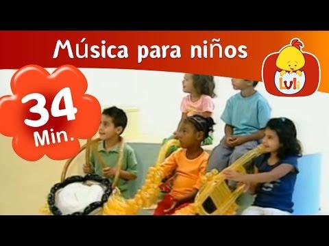 Instrumentos musicales - Especial de media hora para niños