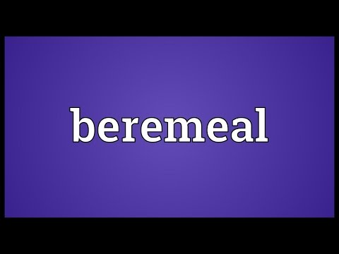 Header of beremeal