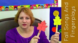 Fall Leaf  Songs and Fingerplays For Preschool and Kindergarten