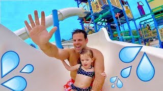 💦 FIRST WATERPARK EXPERIENCE! 🎢