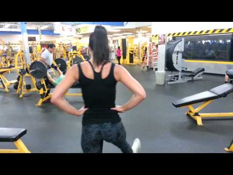 Jenny - Leg Press, Squat, Lunge and Leg Curl SuperSet Image 1