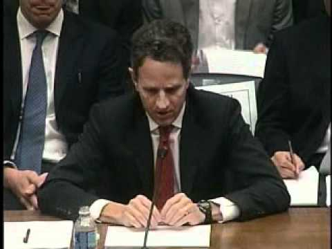 Rep. Bachus Questions Secretary Geithner on the Treasury Report on Housing Finance Reform
