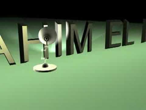 pixar lamp animation. animation 3d , lampara pixar