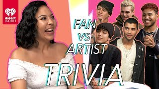 CNCO Goes Head to Head With Their Biggest Fan! | Fan Vs Artist Trivia