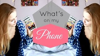 MEIN HANDY / What's on my phone tag 2017