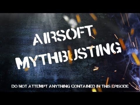 EvikeTV [Airsoft Mythbusting] - Can Airsoft Guns Work Under Water?  GBBs and AEGs