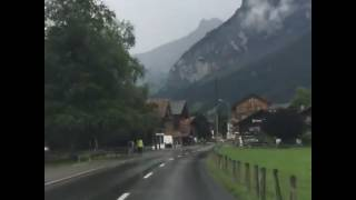 Driving in SWITZERLAND is like watching a MOVIE