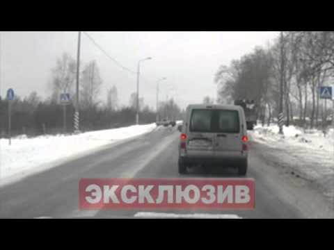 Под Петербургом лихач сбил мать с ребенком [18+]