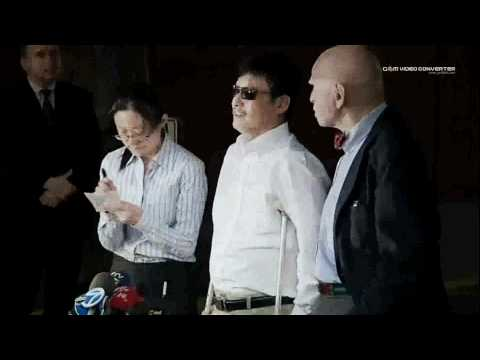 China dissident Chen Guangcheng arrives in the US