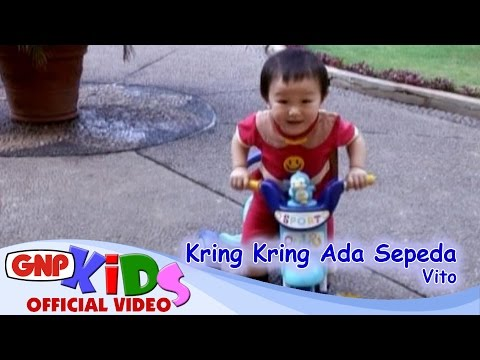 Kring Kring Ada Sepeda - Vito - Lagu Ana