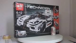 Mở hộp Lepin 23002 Lego Technic MOC Koenigsegg One Sports Car giá sốc rẻ nhất