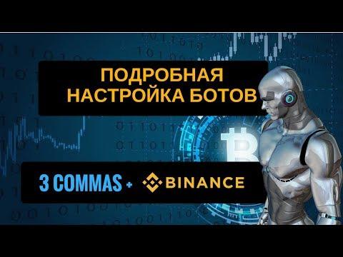 3commas   Подробная настройка ботов для торговли на бирже Binance