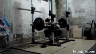 How To Squat: StrongLifts Shows Proper Squat Form