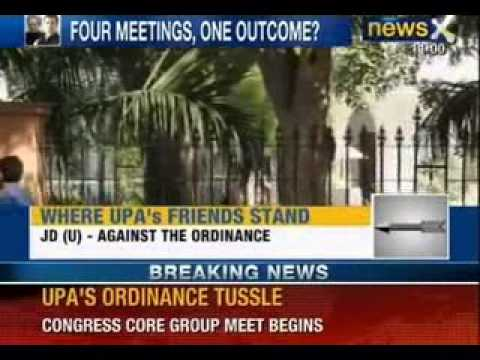 NewsX : Will Prime Minister accept Rahul Gandhi's view on ordinance?