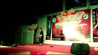 Dangerous song dance ,by scandan #kalarava2017 #hassan veterinary college